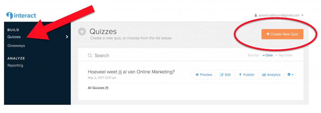 online quiz maken interact